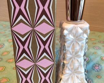 Vintage Avon Dew Kiss Vanity Decanter ~ 1970's Avon Moisturizer ~ Avon Glass Decanter