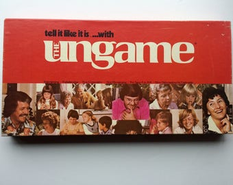 "1975 Vintage ""The Ungame"" Non-competitive board game: Family Fun for All Ages"