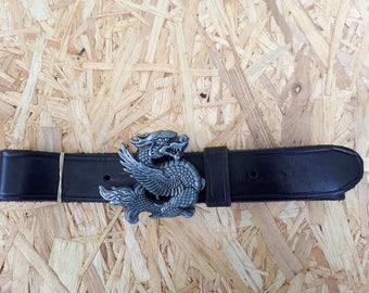 LITTLE DRAGON leather belt