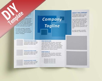 Indesign etsy for Scribus brochure templates