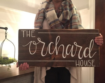 House - Family sign for KATIE GRAY