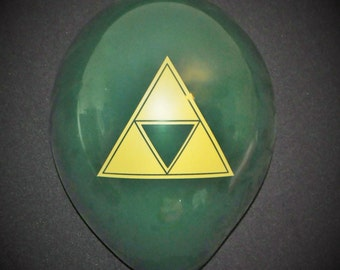"Zelda-themed 11"" Balloons 