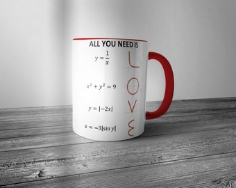 All you need is Love mug - FAST SHIPPING