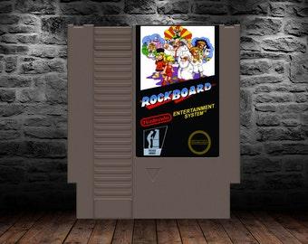 Rockboard - English Translation - Classic Mega Man board game spin off - NES