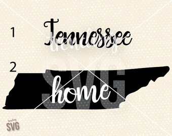 State of Tennessee, Home Pride SVG Cutting File, Ladies Cute Drawn Cricut Silhouette, PNG JPG, Instant Download, Overlay, Mug, Embroidery