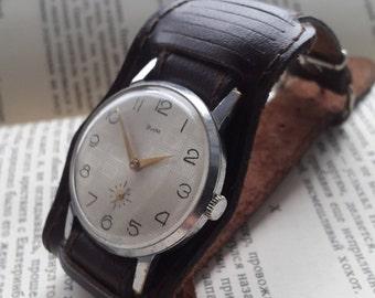 Soviet Era Vintage Watch ZIM,Men's Vintage Watch,Rare watch Zim, Soviet Union era 1970s,  Soviet Era Vintage