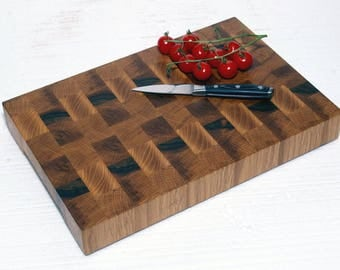 End grain chopping board / End grain cutting board / End grain cutting block / End grain cutting block