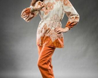 Beautiful linen jacket (blouse) and pants. Suit for women, Linen womens clothing, Wear, Linen cardigan, Long linen coat, Long sleeves top