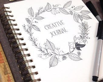 Creative Journal, Journal, Sketchbook