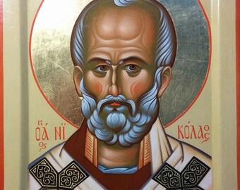 Icon of St. Nicholas of Myra/ Икона святителя Николая Мирликийского Чудотворца