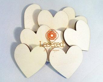 3mm poplar ply hearts