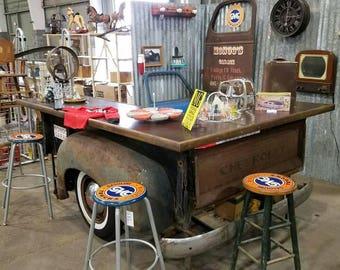 Vintage Chevy Stepside bed Bar