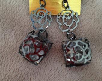 Vintage Gothic Tribal Earrings