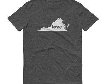 Virginia Shirt, Virginia TShirt, Virginia Love Shirt, Virginia State, Virginia Tee, Virginia State Pride, Gifts, Map, Shirt, TShirt, Tee, VA