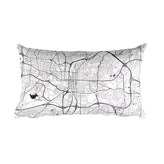 Decorative Pillows Raleigh Nc : Raleigh Pillow Raleigh Decor Raleigh Throw Pillow Raleigh