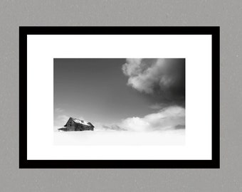 Fine art Print, photographic print,, landscape photography, wall art, snow landscape photography, black and white landscape, photo art
