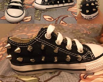 Toddler Boys Spiked Converse