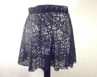 Decay Net Skirt