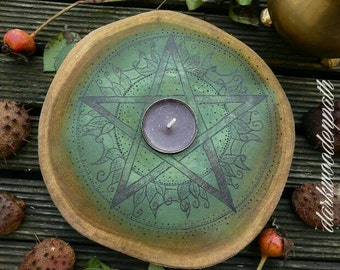 Forest magic pentacle