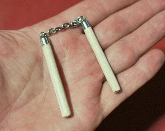 1/6 Scale Martial Arts Weapon - wooden nunchaku