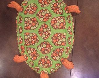 Turtle baby quilt