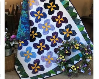 Pansy Party Quilt Pattern