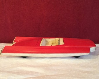 RARE...Vintage Futuristic Streamline Space Age Atomic Concept Car OK Japan, Vintage Plastic Toy Car