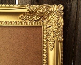 sale 30 off 8x10 gold ornate vintage style baroque picture frame photo wedding nursery home wall decor shabby chic