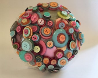 Button Bouquet Retro