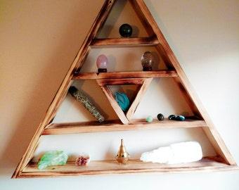 Triangle Altar Shelf