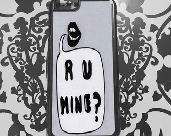 R U Mine  Smartphone Cover 4/4S 5/5S 6 6 Plus Phone Case Samsung , smartphone case, Arctic Monkeys