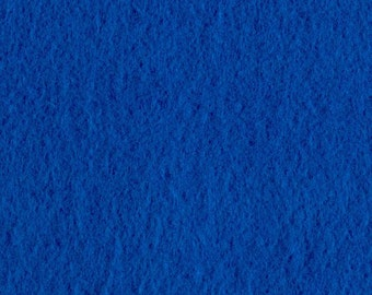 Neon Blue Craft Felt Fabric - Kunin Felt - Bright Blue Crafting Felt