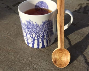 Teaspoon - Cherry wood.