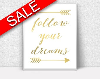 Dreams Framed Print Available Gold Canvas Print Available Dreams Present Art Gold Present Print Dreams Printed Gold Art Print Gold Art