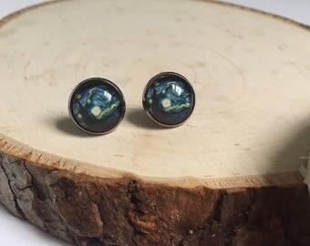 Earrings - Starry Night
