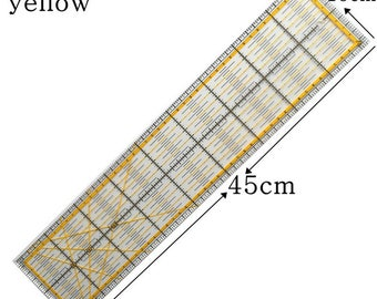 1pcs 10cm * 45cm Patchwork Ruler Advanced Acrylic Material Exquisite Workmanship And Easy To Use