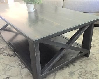 Rustic Coffee Table (Free local shipping)