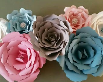 Pink & Blue Gender Reveal Flowers