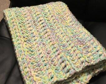 Multicolored Pastel Baby Rug