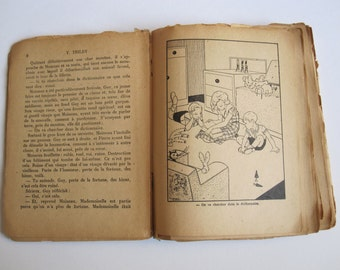 Manon IESSEL and T.TRILBY book 1942 Sparrow the small bookseller. Flammarion. Collection.
