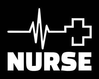 Nurse Vinyl Decal