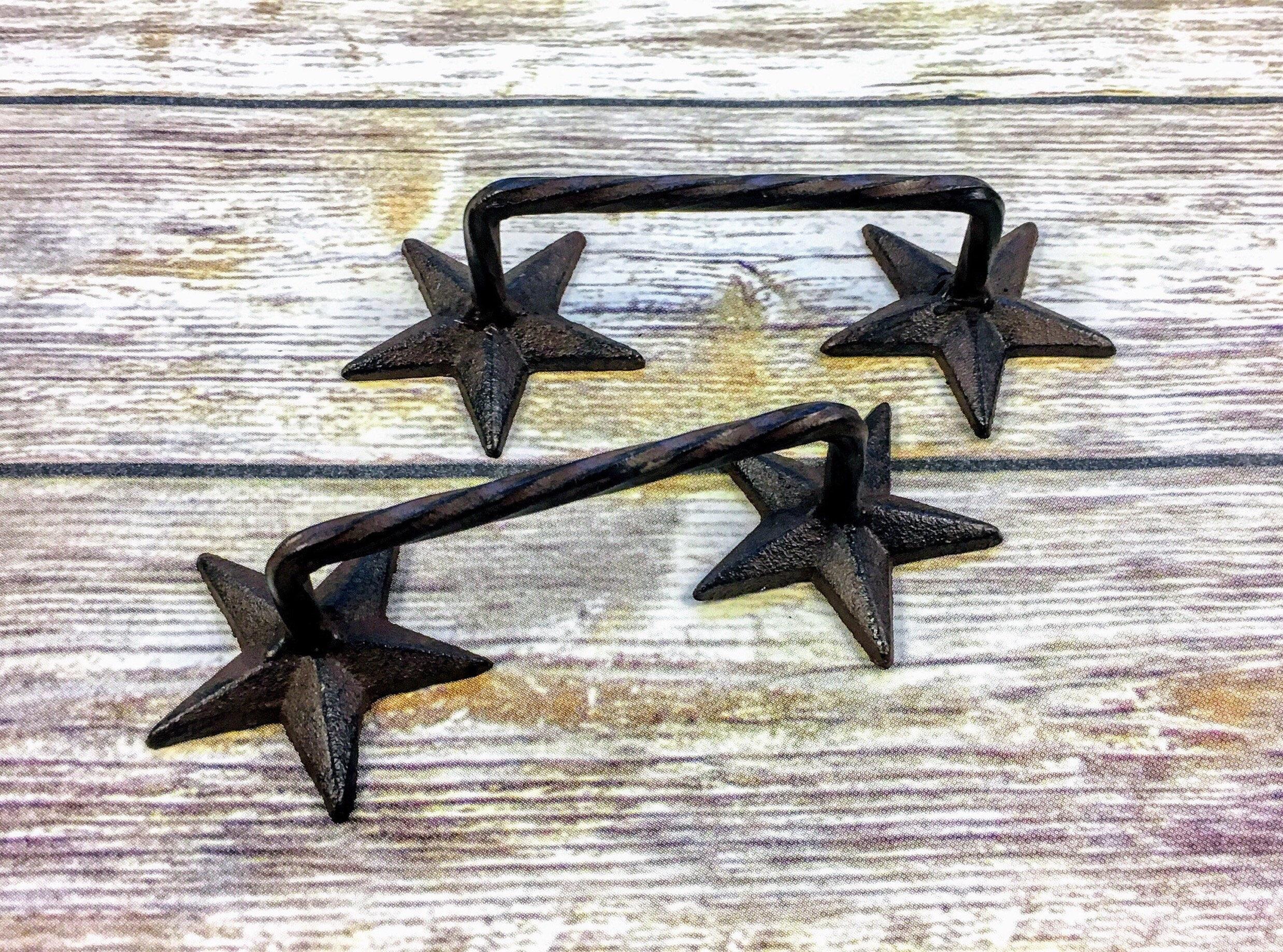 Star Barn Door Handles Rustic Handles Gate Handles Door