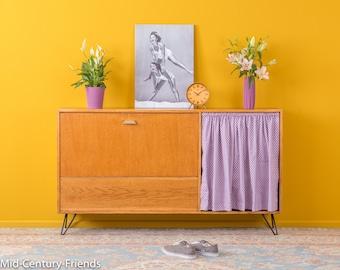 50s shoe cabinet, 60s, dresser, vintage (608042)