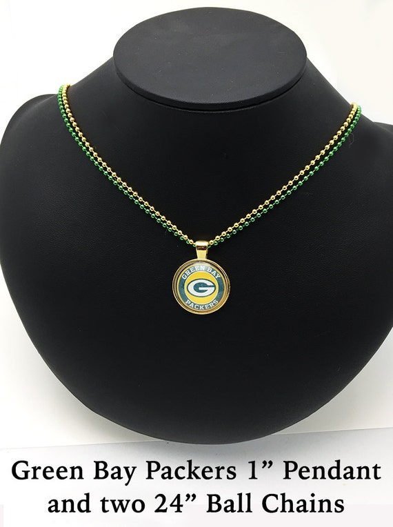 GREEN BAY Necklace  **FREE Shipping with orders 10 dollars+ **