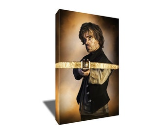 FREE SHIPPING Tyrion Lannister Portrait Canvas Art
