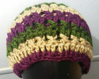Child Braided Cable Beanie