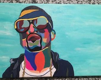 Kanye painting