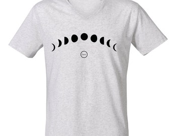 Lunar v neck T-shirt