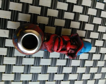 Magic wizard Smoking pipe with  stem design and mix of colors