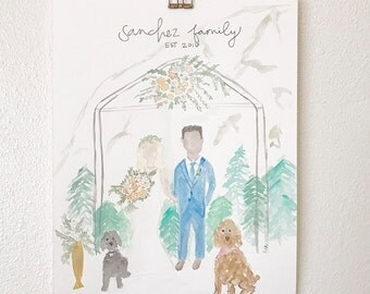 Custom family painting